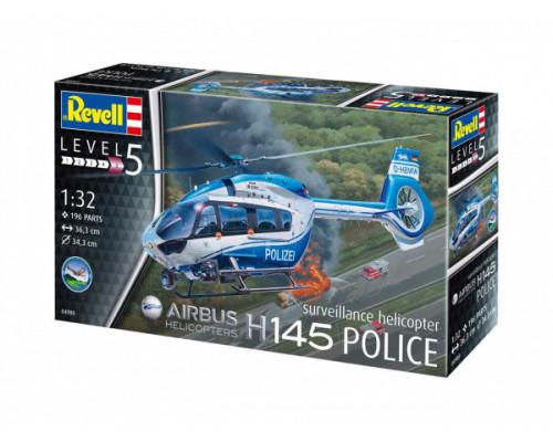 Полицейский вертолет H145