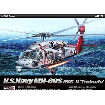 """Вертолёт MH-60S HSC-9 """"Tridents"""" (1:35)"""