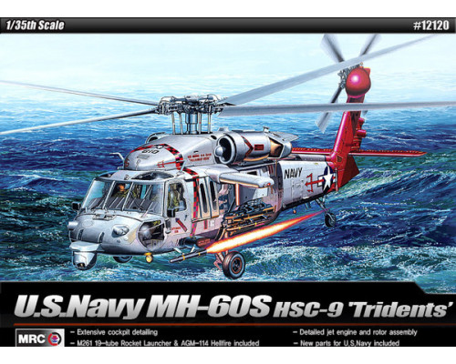 "Вертолёт MH-60S HSC-9 ""Tridents"" (1:35)"