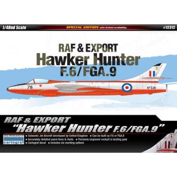 Самолет RAF & Export Hawker Hunter F.6/FGA.9 (1:48)