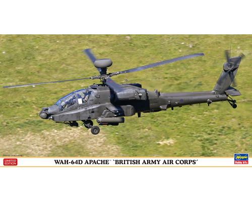 H07445 Hasegawa Ударный вертолет WAH-64D Apache Королевских ВВС (1:48)