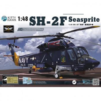 KH80122 1/48 SH-2F Seasprite Kit First Look, , шт от Kitty Hawk