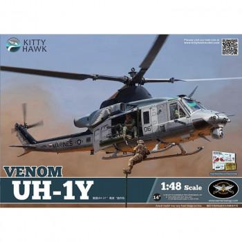 KH80124 1/48 UH-1Y от Kitty Hawk