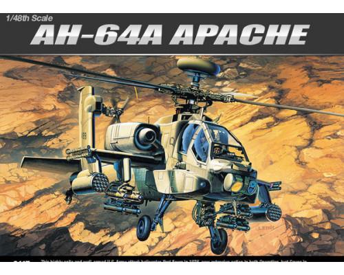 Вертолет AH-64A (1:48)