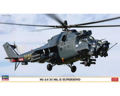 H02209 Hasegawa Ударный вертолет Mi-24/35 Mk.III Superhind (1:72)