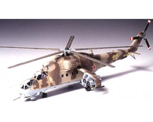 Вертолёт Mi-24 Hind масштабе 1 к 72