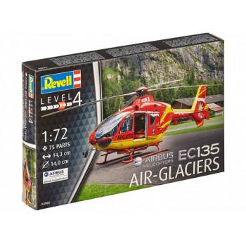 Многоцелевой легкий вертолет EC135 авиакомпании AIR-GLACIERS