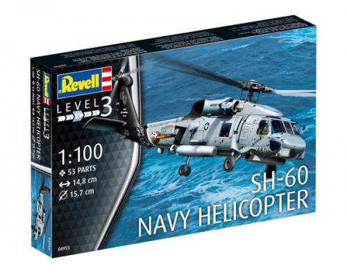 Американский многоцелевой вертолёт SH-60 военно-морского флота