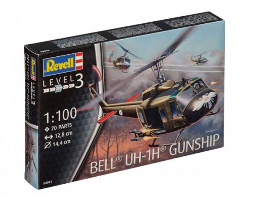Американский многоцелевой вертолёт Белл UH-1 «Ирокез»