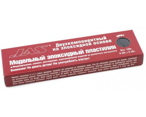 6205 Jas Эпоксидный пластилин, черный, 100 гр