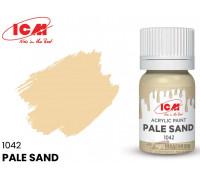 C1042 Краска для творчества, 12 мл, цвет Бледный песок(Pale Sand)