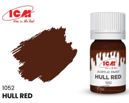 C1052 Краска для творчества, 12 мл, цвет Красно-коричневый(Hull Red)