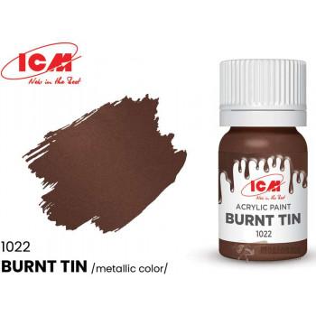 C1022 Краска для творчества, 12 мл, цвет Жженое олово(Burnt Tin)
