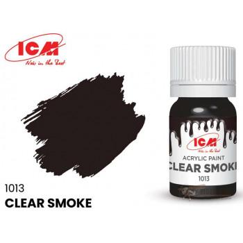 C1013 Краска для творчества, 12 мл, цвет Прозрачный дым(Clear Smoke)