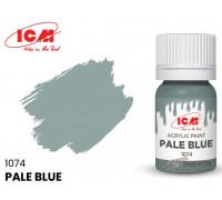 C1074 Краска для творчества, 12 мл, цвет Бледно-голубой(Pale Blue)