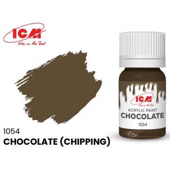 C1054 Краска для творчества, 12 мл, цвет Шоколадный(Chocolate (Chipping))