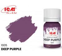 C1005 Краска для творчества, 12 мл, цвет Темно-фиолетовый(Deep Purple)