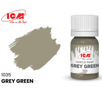 C1035 Краска для творчества, 12 мл, цвет Серо-зеленый(Grey Green)