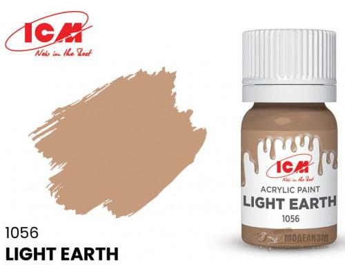 C1056 Краска для творчества, 12 мл, цвет Светлая Земля(Light Earth)