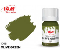 C1068 Краска для творчества, 12 мл, цвет Оливковый(Olive Green)