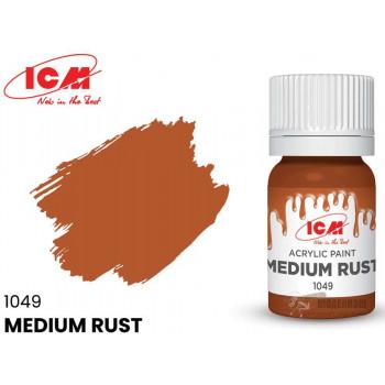 C1049 Краска для творчества, 12 мл, цвет Средняя ржавчина(Medium Rust)