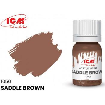 C1050 Краска для творчества, 12 мл, цвет Коричневое седло(Saddle Brown)