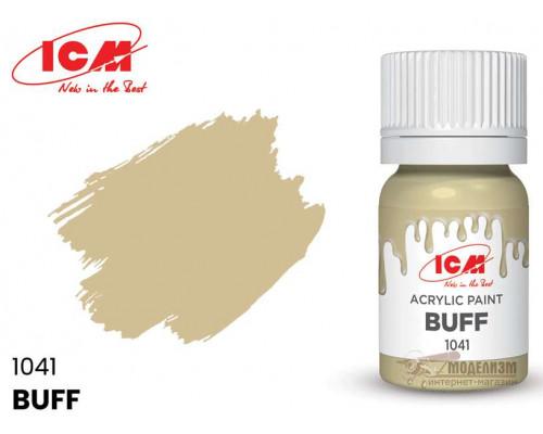 C1041 Краска для творчества, 12 мл, цвет Буйволовая кожа(Buff)