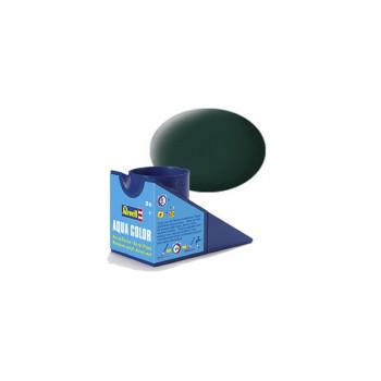 Аква-краска чёрно-зелёная, матовая