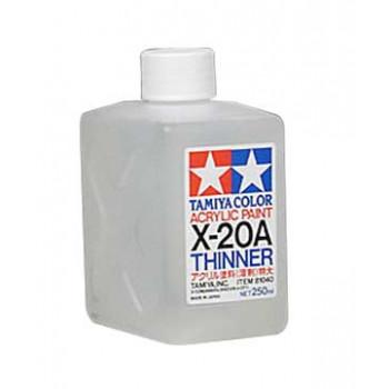 X-20A Растворительдля акрил.красок 250мл