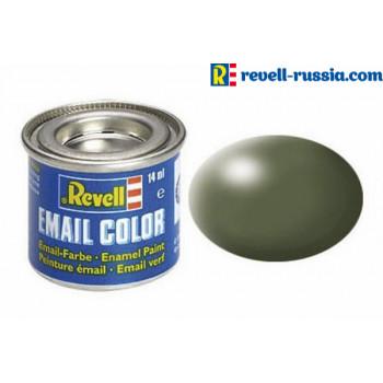 Краска оливково-зеленая РАЛ 6003 шелково-матовая