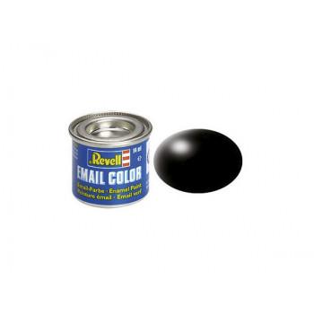 Краска черная РАЛ 9005 шелково-матовая