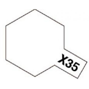 X-35 Semi-Gloss Clear (полуматовый лак) акрил. 10мл.