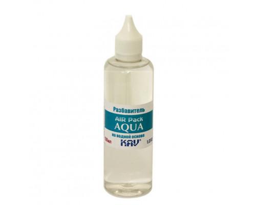 """Разбавитель """"AQUA"""" AIR Pack (Универсальный разбавитель для красок на водной основе AK, MIG, Vallejo, Звезда, Pacific88 и др. красок на водной основе в удобной упаковке с капельным дозатором)"""