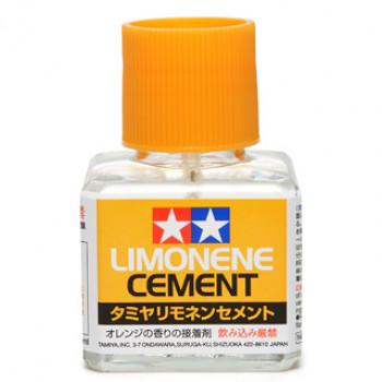 Клей (Limonene Cement) 40мл с закруч. крышкой и кисточкой (с запахом лимона)