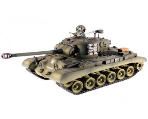 Радиоуправляемый танк Taigen 1:16 M26 Pershing Snow Leopard PRO 2.4 Ghz (пневмо)