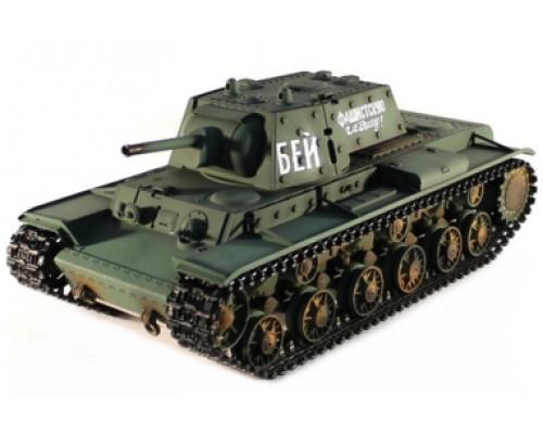 Радиоуправляемый танк Taigen 1:16 Russia KV-1 HC 2.4 Ghz (пневмо)