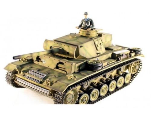 Радиоуправляемый танк Taigen 1:16 Panzerkampfwagen III 2.4 Ghz (пневмо)