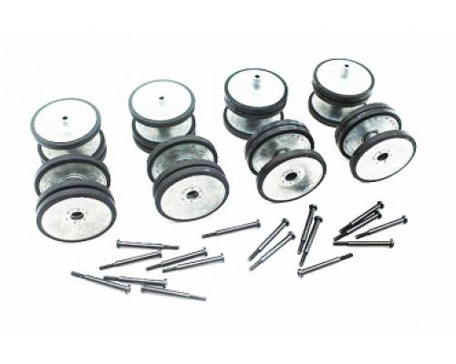 Катки опорные и колесные оси для Taigen German Tiger 3818 (металл)