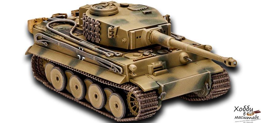 Сборная модель танка Тигр